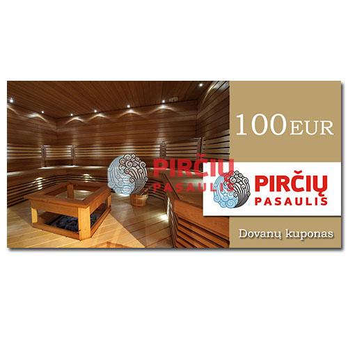 Dovanų kuponas 100 Eurai
