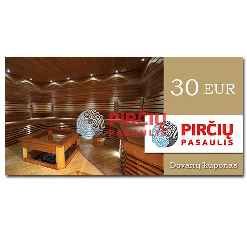 Dovanų kuponas 30 Eurai