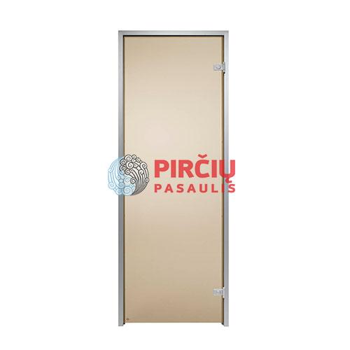 Durys aliuminio stakta 70x190 ruda