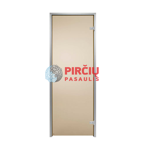 Durys aliuminio stakta 80x210 ruda