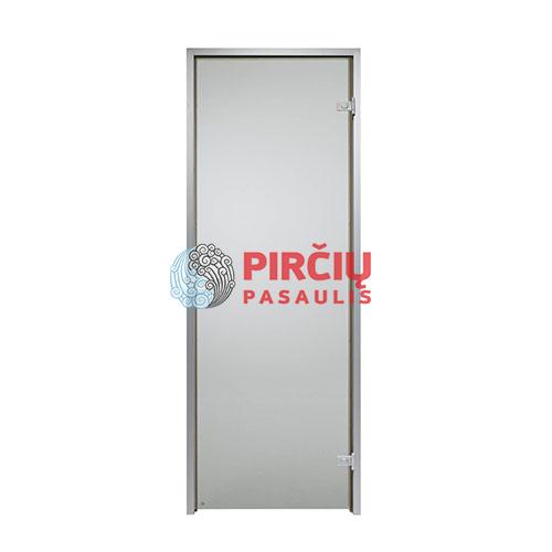 Durys aliuminio stakta 70x190 pilka