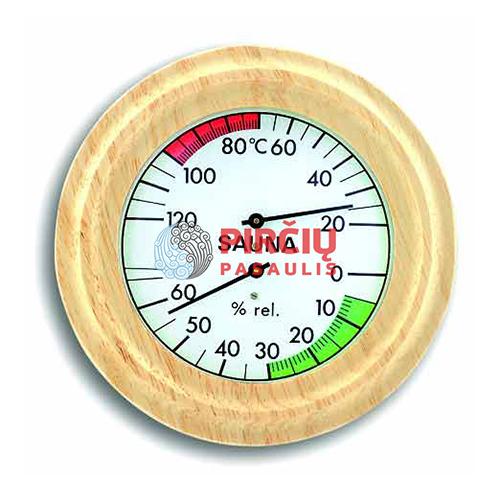 Saunos termometras-higrometras, 13 cm ATITH02