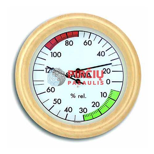 Saunos termometras-higrometras, 19 cm ATITH03