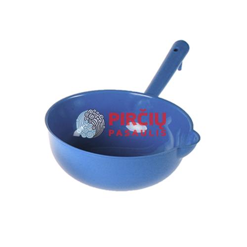 Plastikinis kaušas 2ltr mėlynas