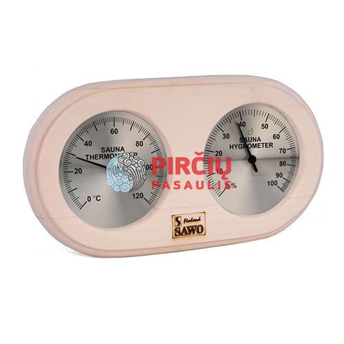 Saunos termometras-higrometras 222THA
